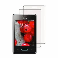 LG Optimus L3 II E430/ E425/ E435 Dual Sim: Lot / Pack de 2x Films de protection d'écran clear transparent