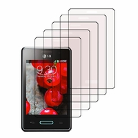 LG Optimus L3 II E430/ E425/ E435 Dual Sim: Lot / Pack de 5x Films de protection d'écran clear transparent