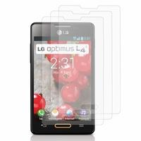 LG Optimus L4 II E440: Lot / Pack de 3x Films de protection d'écran clear transparent