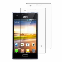 LG Optimus L5 E610/ E612/ E615 Dual Sim: Lot / Pack de 2x Films de protection d'écran clear transparent
