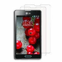 LG Optimus L7 II P710/ L7X P714: Lot / Pack de 2x Films de protection d'écran clear transparent