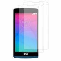 LG Leon 4G LTE H340N/ Tribute 2/ Tribute Duo LS665: Lot / Pack de 2x Films de protection d'écran clear transparent
