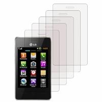 LG T385: Lot / Pack de 5x Films de protection d'écran clear transparent