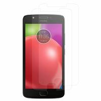 """Motorola Moto E4 5.0"""" XT1766/ XT1763/ Motorola Moto E (4th Gen): Lot / Pack de 2x Films de protection d'écran clear transparent"""