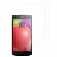"""Motorola Moto E4 5.0"""" XT1766/ XT1763/ Motorola Moto E (4th Gen): Lot / Pack de 5x Films de protection d'écran clear transparent"""
