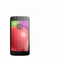 """Motorola Moto E4 5.0"""" XT1766/ XT1763/ Motorola Moto E (4th Gen): Lot / Pack de 6x Films de protection d'écran clear transparent"""