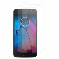 """Motorola Moto G5S 5.2"""" XT1793 XT1794 XT1792 (non compatible G5/ G5 Plus/ G5S Plus): Lot / Pack de 2x Films de protection d'écran clear transparent"""
