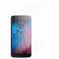 """Motorola Moto G5S 5.2"""" XT1793 XT1794 XT1792 (non compatible G5/ G5 Plus/ G5S Plus): Lot / Pack de 5x Films de protection d'écran clear transparent"""