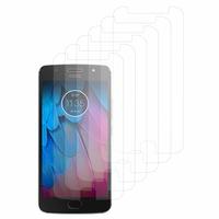 """Motorola Moto G5S 5.2"""" XT1793 XT1794 XT1792 (non compatible G5/ G5 Plus/ G5S Plus): Lot / Pack de 6x Films de protection d'écran clear transparent"""