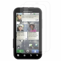 Motorola Defy MB525: Lot / Pack de 2x Films de protection d'écran clear transparent