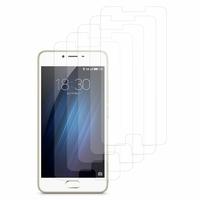 Meizu M3s/ M3 S: Lot / Pack de 5x Films de protection d'écran clear transparent