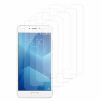 "Meizu M5 Note 5.5"": Lot / Pack de 5x Films de protection d'écran clear transparent"