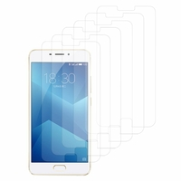 "Meizu M5 Note 5.5"": Lot / Pack de 6x Films de protection d'écran clear transparent"