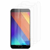 Meizu MX5: Lot / Pack de 3x Films de protection d'écran clear transparent