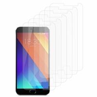 Meizu MX5: Lot / Pack de 6x Films de protection d'écran clear transparent