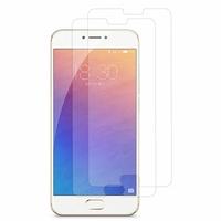 Meizu Pro 6: Lot / Pack de 2x Films de protection d'écran clear transparent