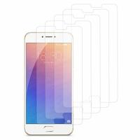 Meizu Pro 6: Lot / Pack de 5x Films de protection d'écran clear transparent
