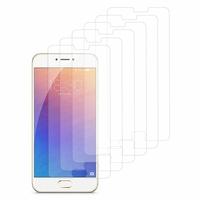 Meizu Pro 6: Lot / Pack de 6x Films de protection d'écran clear transparent