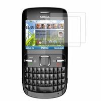 Nokia C3: Lot / Pack de 2x Films de protection d'écran clear transparent