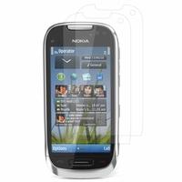 Nokia C7: Lot / Pack de 2x Films de protection d'écran clear transparent