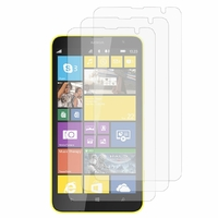 Nokia Lumia 1320/ RM-994/ RM-995/ RM-996: Lot / Pack de 3x Films de protection d'écran clear transparent