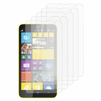 Nokia Lumia 1320/ RM-994/ RM-995/ RM-996: Lot / Pack de 5x Films de protection d'écran clear transparent