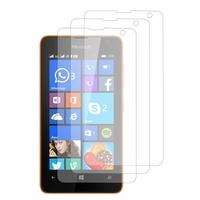 Microsoft Nokia Lumia 430 Dual SIM: Lot / Pack de 3x Films de protection d'écran clear transparent