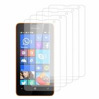 Microsoft Nokia Lumia 430 Dual SIM: Lot / Pack de 5x Films de protection d'écran clear transparent