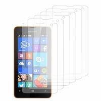 Microsoft Nokia Lumia 430 Dual SIM: Lot / Pack de 6x Films de protection d'écran clear transparent