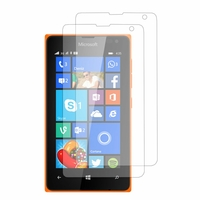 Microsoft Nokia Lumia 435/ 435 Dual SIM: Lot / Pack de 2x Films de protection d'écran clear transparent