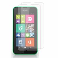 Nokia Lumia 530/ 530 Dual Sim/ RM-1017/ RM-1019: Lot / Pack de 2x Films de protection d'écran clear transparent