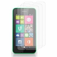 Nokia Lumia 530/ 530 Dual Sim/ RM-1017/ RM-1019: Lot / Pack de 3x Films de protection d'écran clear transparent