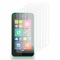 Nokia Lumia 530/ 530 Dual Sim/ RM-1017/ RM-1019: Lot / Pack de 5x Films de protection d'écran clear transparent