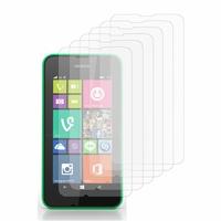Nokia Lumia 530/ 530 Dual Sim/ RM-1017/ RM-1019: Lot / Pack de 6x Films de protection d'écran clear transparent