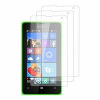 Microsoft Nokia Lumia 532/ 532 Dual SIM: Lot / Pack de 3x Films de protection d'écran clear transparent