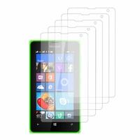 Microsoft Nokia Lumia 532/ 532 Dual SIM: Lot / Pack de 5x Films de protection d'écran clear transparent