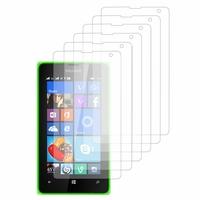 Microsoft Nokia Lumia 532/ 532 Dual SIM: Lot / Pack de 6x Films de protection d'écran clear transparent