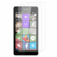 Microsoft Nokia Lumia 540 Dual SIM: Lot / Pack de 2x Films de protection d'écran clear transparent