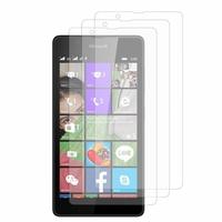 Microsoft Nokia Lumia 540 Dual SIM: Lot / Pack de 3x Films de protection d'écran clear transparent