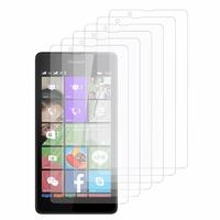 Microsoft Nokia Lumia 540 Dual SIM: Lot / Pack de 6x Films de protection d'écran clear transparent