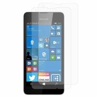 Microsoft Nokia Lumia 550: Lot / Pack de 2x Films de protection d'écran clear transparent