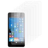 Microsoft Nokia Lumia 550: Lot / Pack de 6x Films de protection d'écran clear transparent
