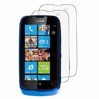 Nokia Lumia 610/ 610 NFC/ RM-835: Lot / Pack de 2x Films de protection d'écran clear transparent