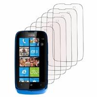 Nokia Lumia 610/ 610 NFC/ RM-835: Lot / Pack de 6x Films de protection d'écran clear transparent