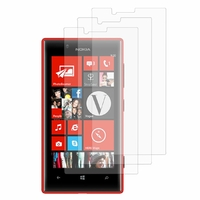 Nokia Lumia 720: Lot / Pack de 3x Films de protection d'écran clear transparent