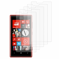 Nokia Lumia 720: Lot / Pack de 5x Films de protection d'écran clear transparent