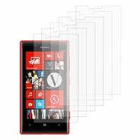 Nokia Lumia 720: Lot / Pack de 6x Films de protection d'écran clear transparent