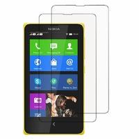 Nokia X/ X+/ A110/ Dual SIM RM-980/ RM-1053: Lot / Pack de 2x Films de protection d'écran clear transparent