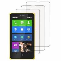 Nokia X/ X+/ A110/ Dual SIM RM-980/ RM-1053: Lot / Pack de 3x Films de protection d'écran clear transparent