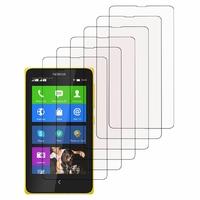 Nokia X/ X+/ A110/ Dual SIM RM-980/ RM-1053: Lot / Pack de 6x Films de protection d'écran clear transparent